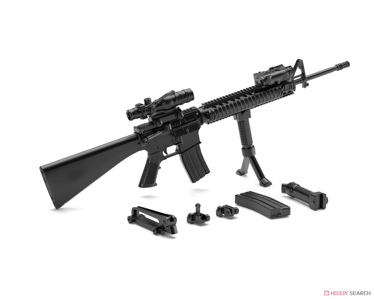 リトルアーモリー LA056『M16A4タイプ』1/12 プラモデル-002