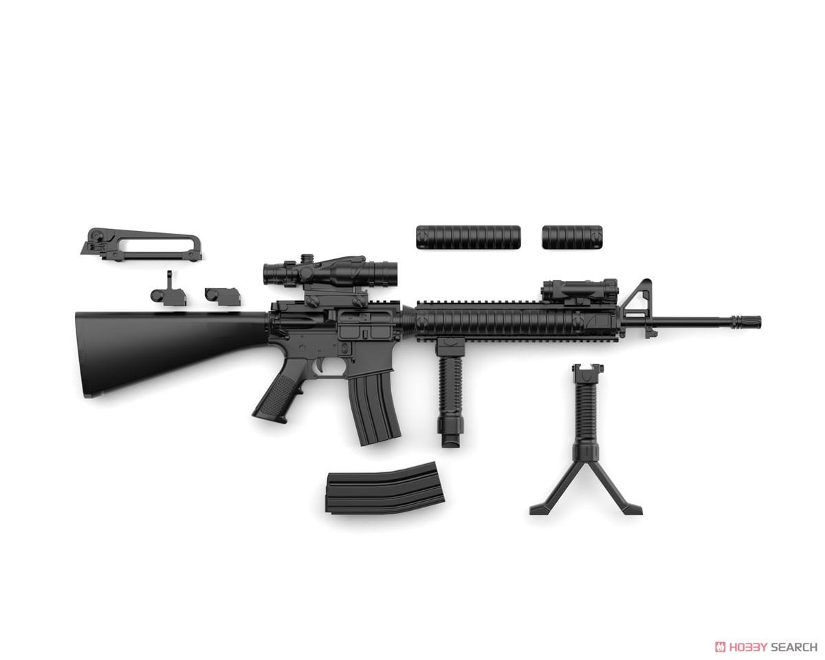 リトルアーモリー LA056『M16A4タイプ』1/12 プラモデル-003