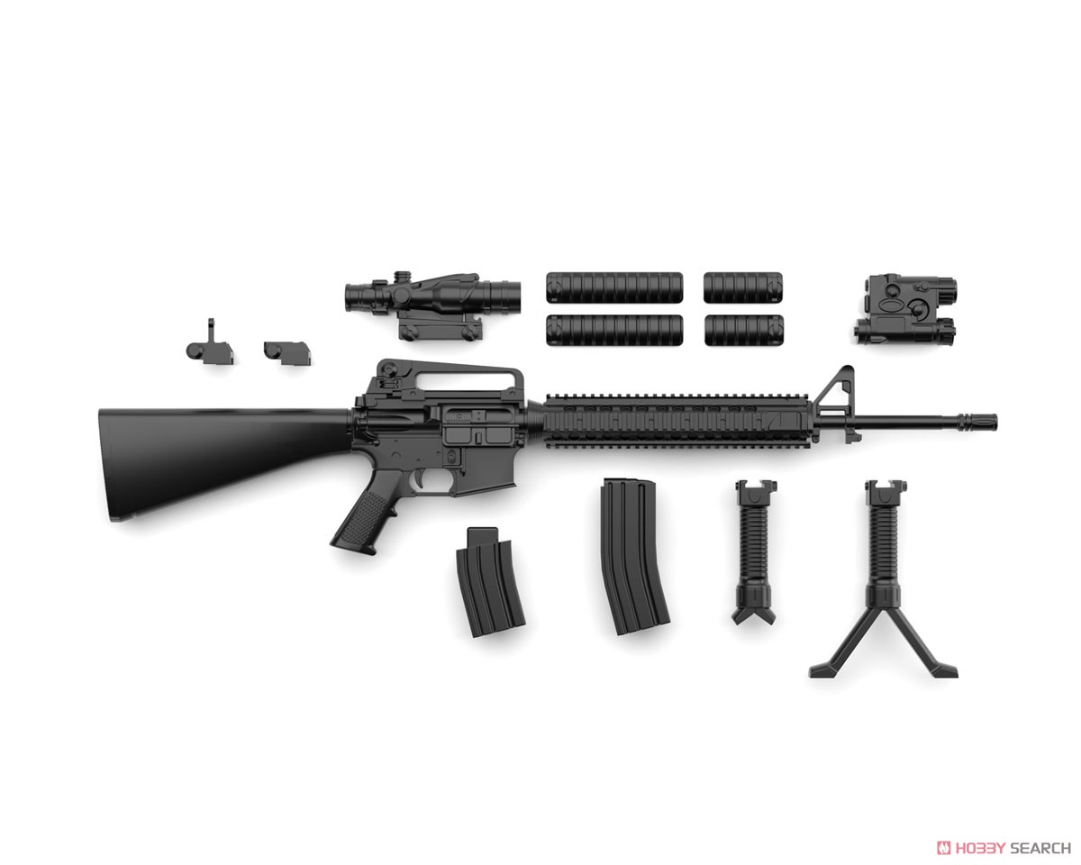 リトルアーモリー LA056『M16A4タイプ』1/12 プラモデル-004