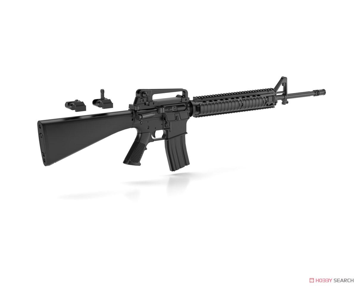 リトルアーモリー LA056『M16A4タイプ』1/12 プラモデル-005