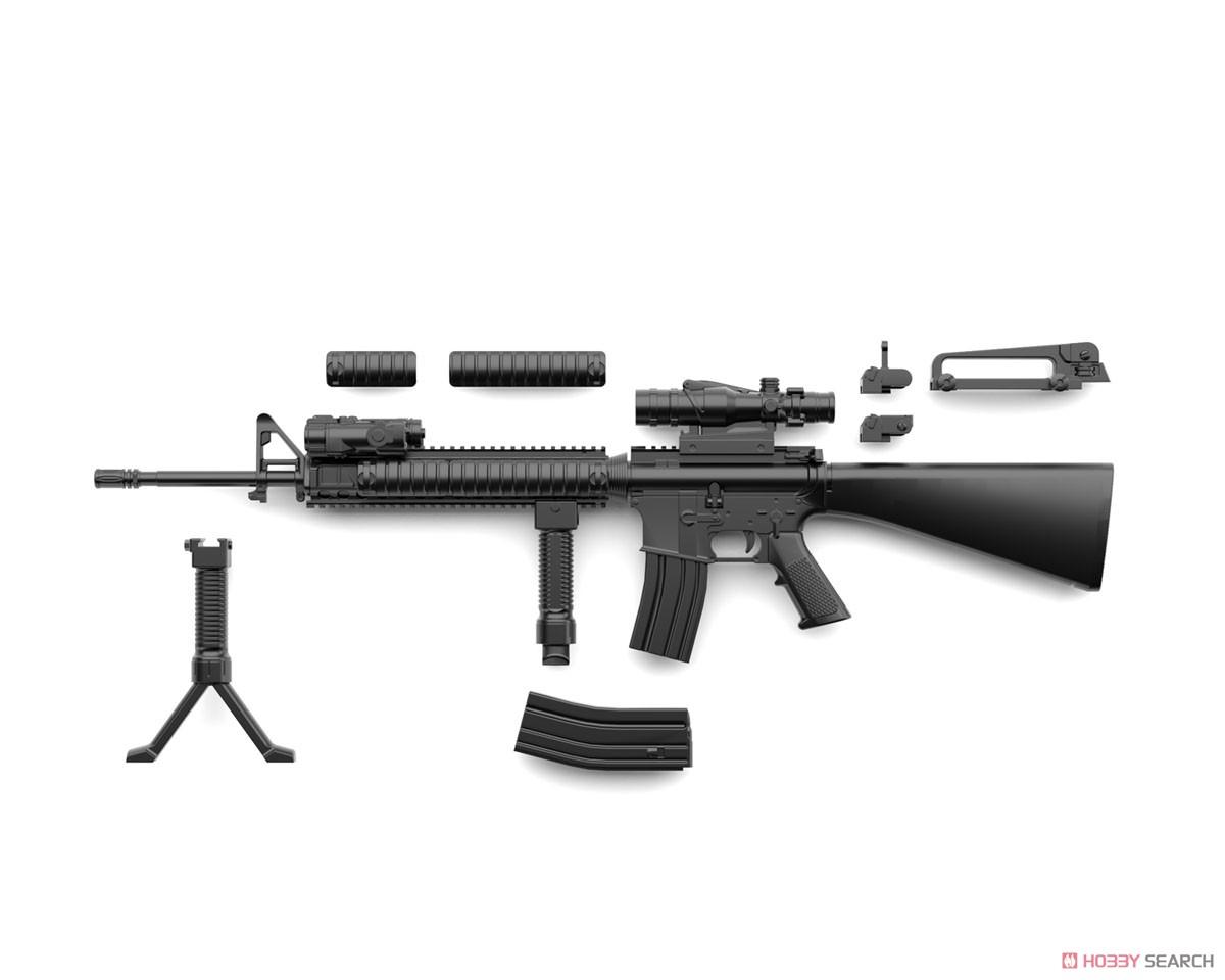 リトルアーモリー LA056『M16A4タイプ』1/12 プラモデル-007