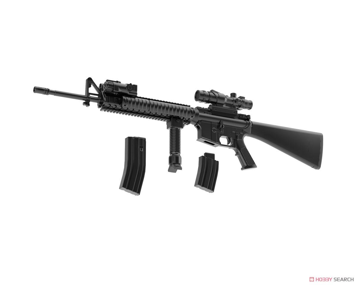 リトルアーモリー LA056『M16A4タイプ』1/12 プラモデル-008