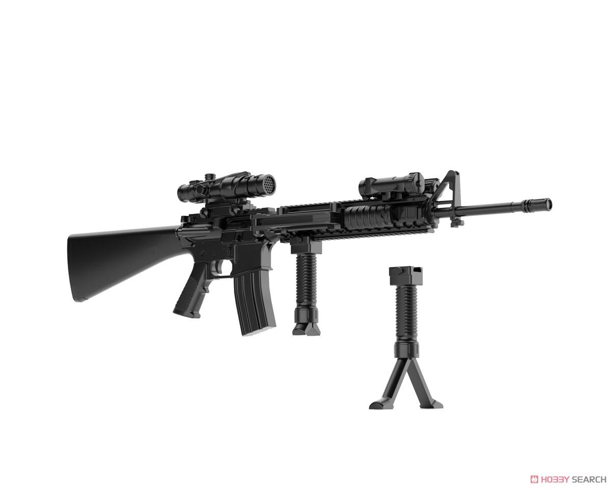 リトルアーモリー LA056『M16A4タイプ』1/12 プラモデル-009