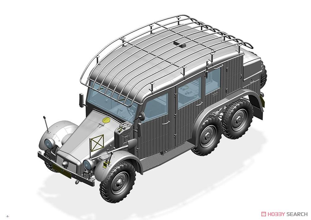 1/35『独・クルップ・プロッツェKfz.19無線指揮車』プラモデル-005