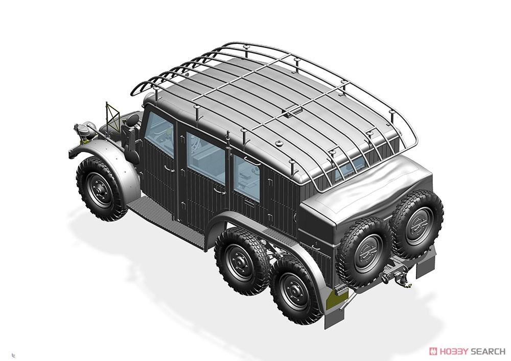 1/35『独・クルップ・プロッツェKfz.19無線指揮車』プラモデル-006
