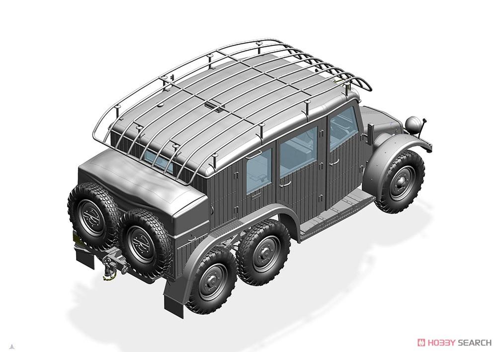1/35『独・クルップ・プロッツェKfz.19無線指揮車』プラモデル-008