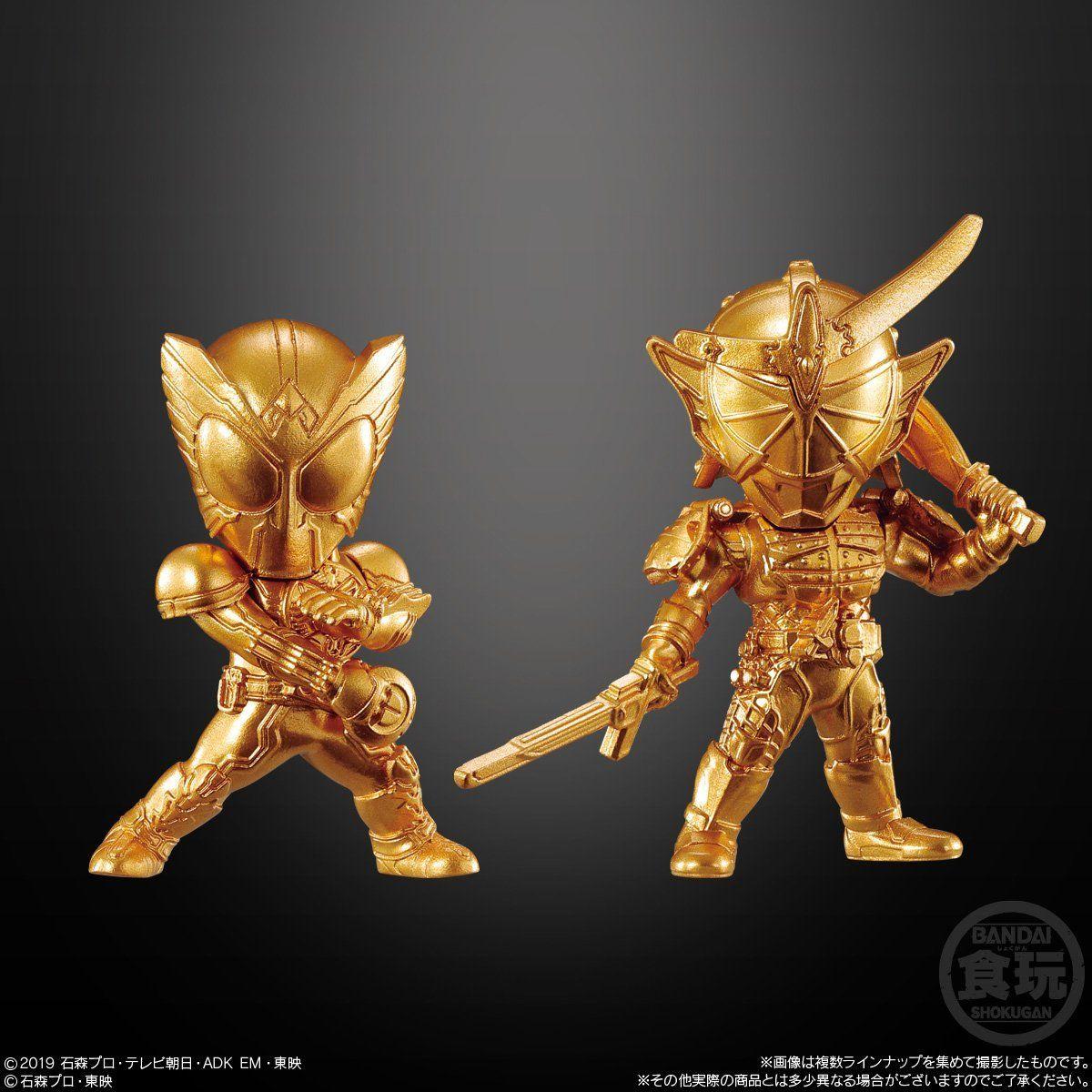 【食玩】『仮面ライダーゴールドフィギュア01』16個入りBOX-007