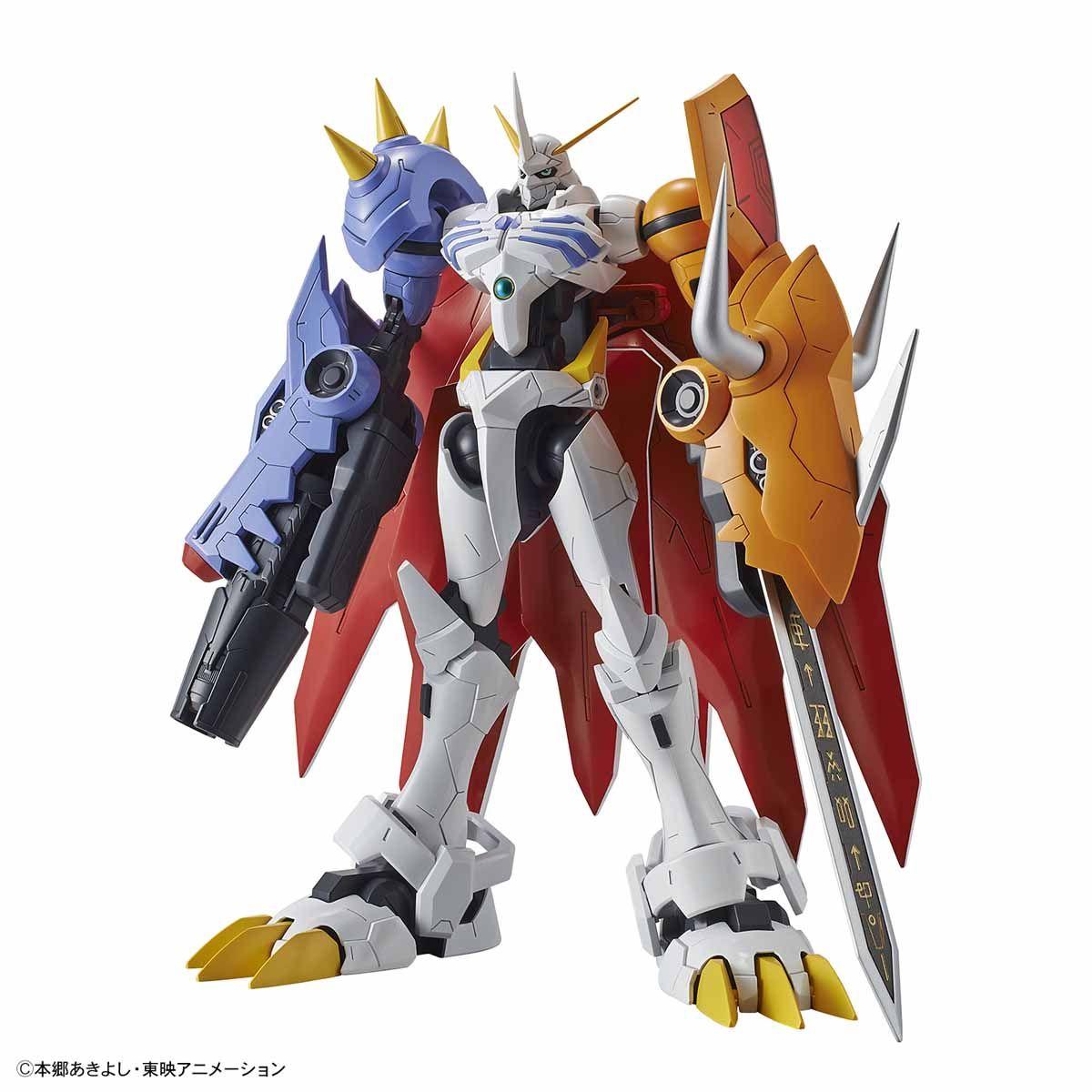 【再販】Figure-rise Standard『オメガモン(AMPLIFIED)』デジモンアドベンチャー プラモデル-001