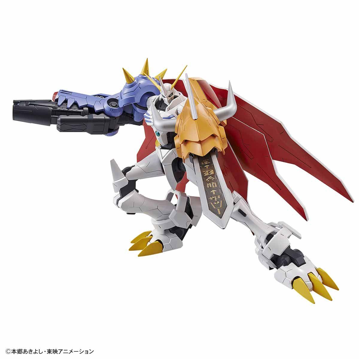 【再販】Figure-rise Standard『オメガモン(AMPLIFIED)』デジモンアドベンチャー プラモデル-002
