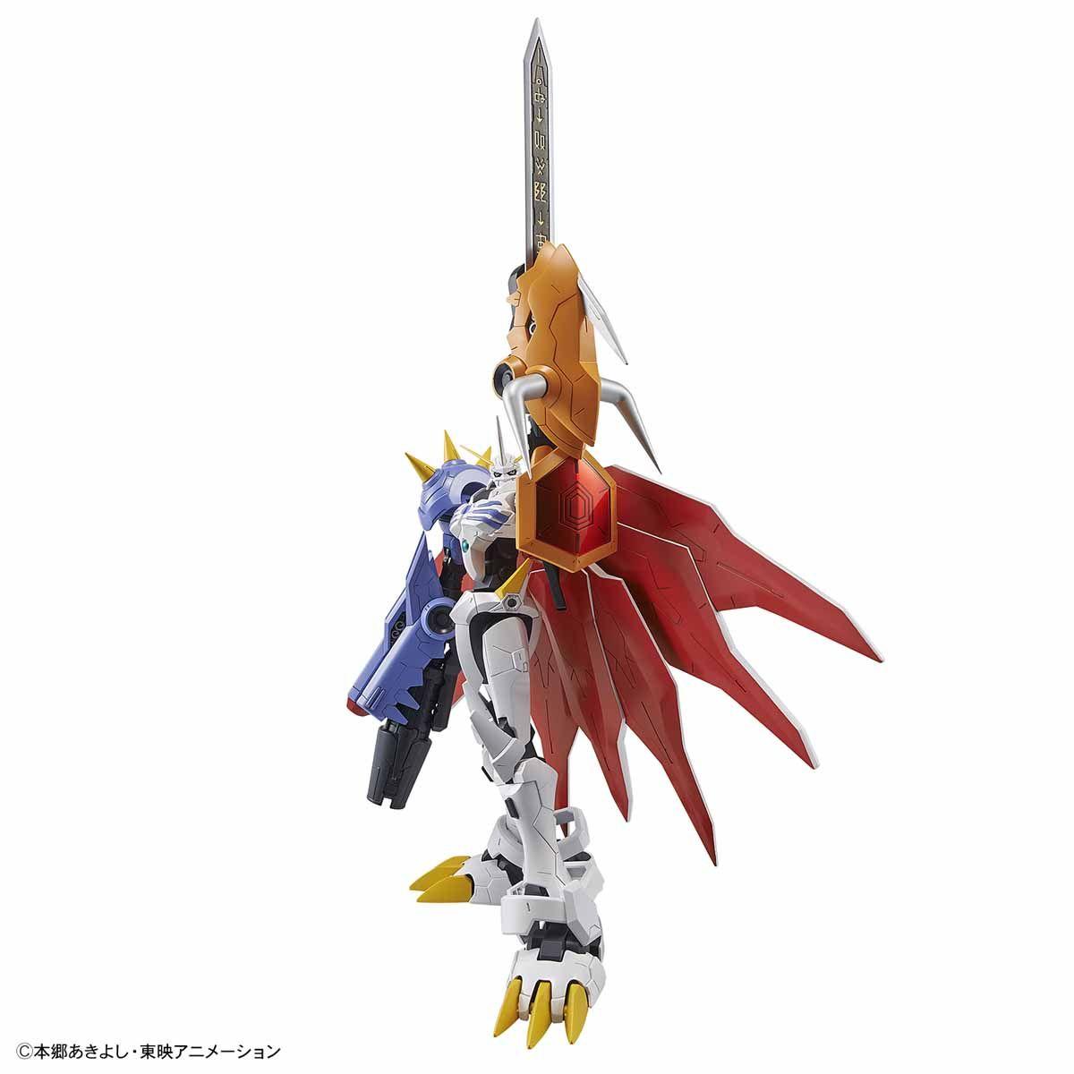 【再販】Figure-rise Standard『オメガモン(AMPLIFIED)』デジモンアドベンチャー プラモデル-004