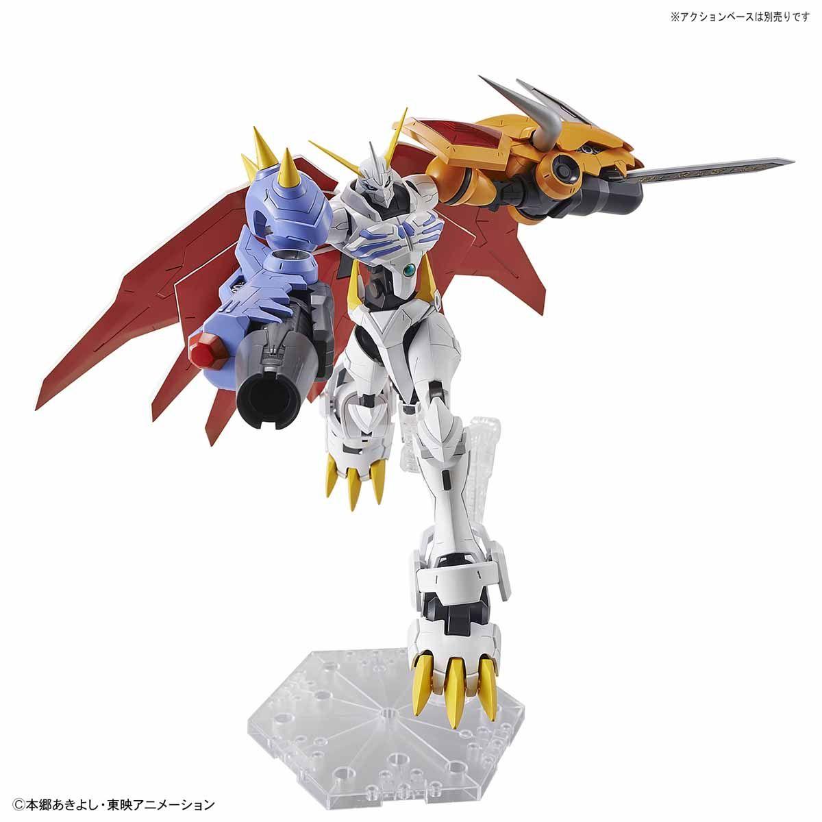 【再販】Figure-rise Standard『オメガモン(AMPLIFIED)』デジモンアドベンチャー プラモデル-005