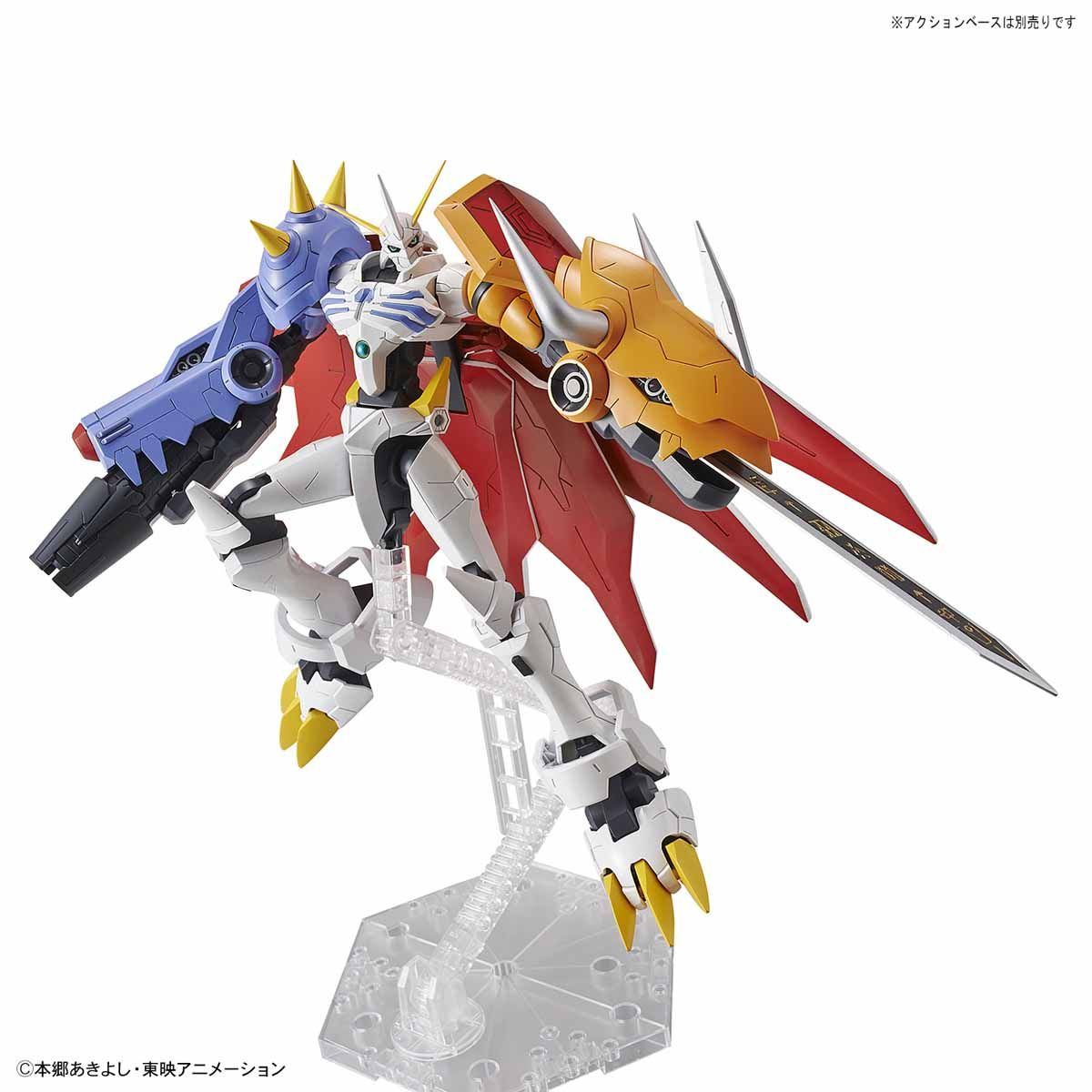 【再販】Figure-rise Standard『オメガモン(AMPLIFIED)』デジモンアドベンチャー プラモデル-006