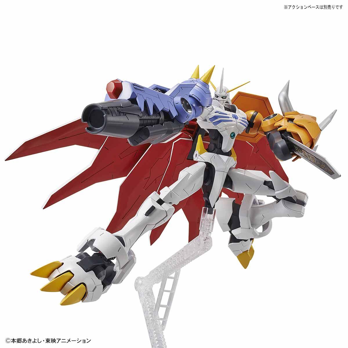 【再販】Figure-rise Standard『オメガモン(AMPLIFIED)』デジモンアドベンチャー プラモデル-007