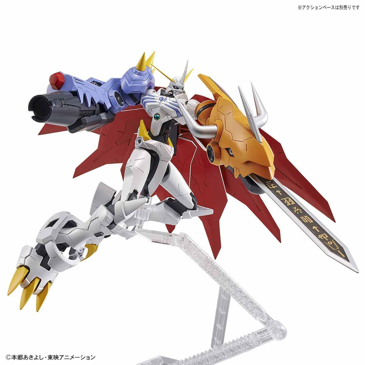 【再販】Figure-rise Standard『オメガモン(AMPLIFIED)』デジモンアドベンチャー プラモデル-008