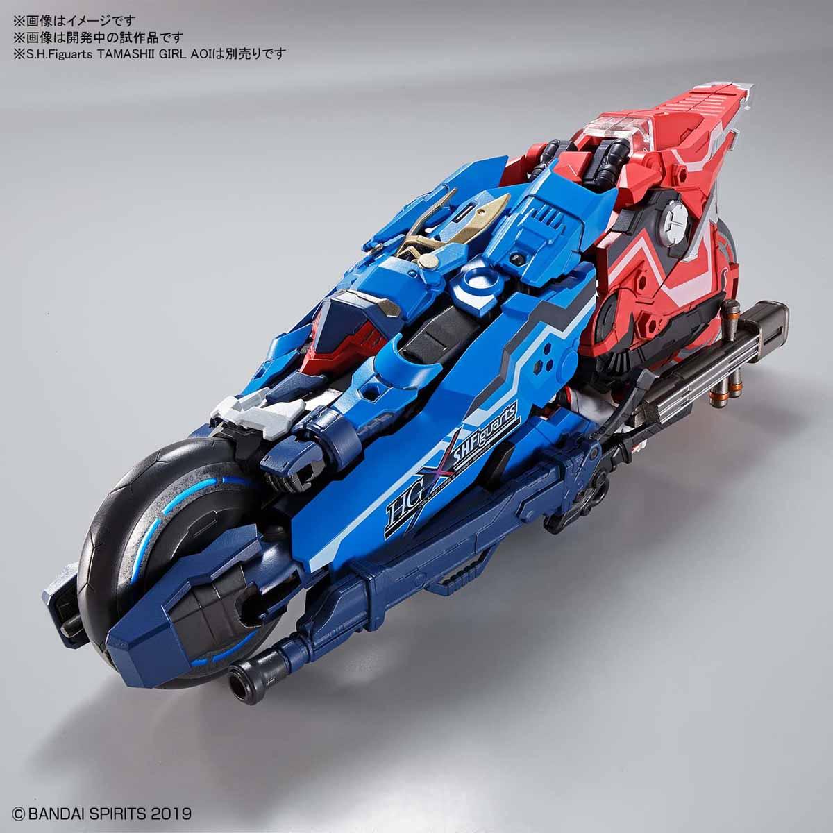 HG『蒼流丸』プラモデル-006