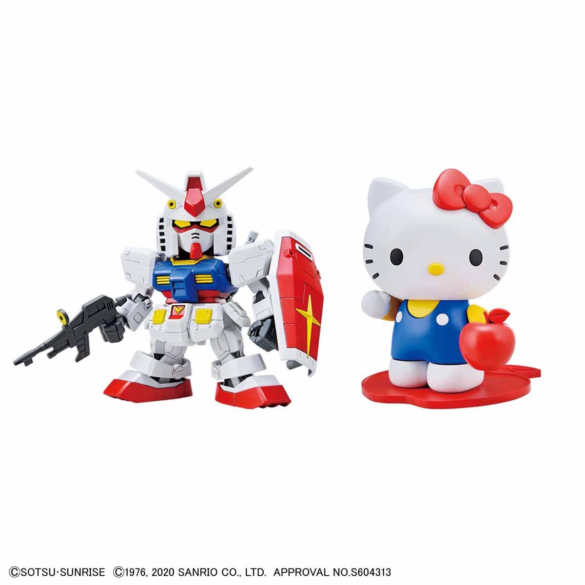 『ハローキティ / RX-78-2 ガンダム[SD EX-STANDARD]』プラモデル-001