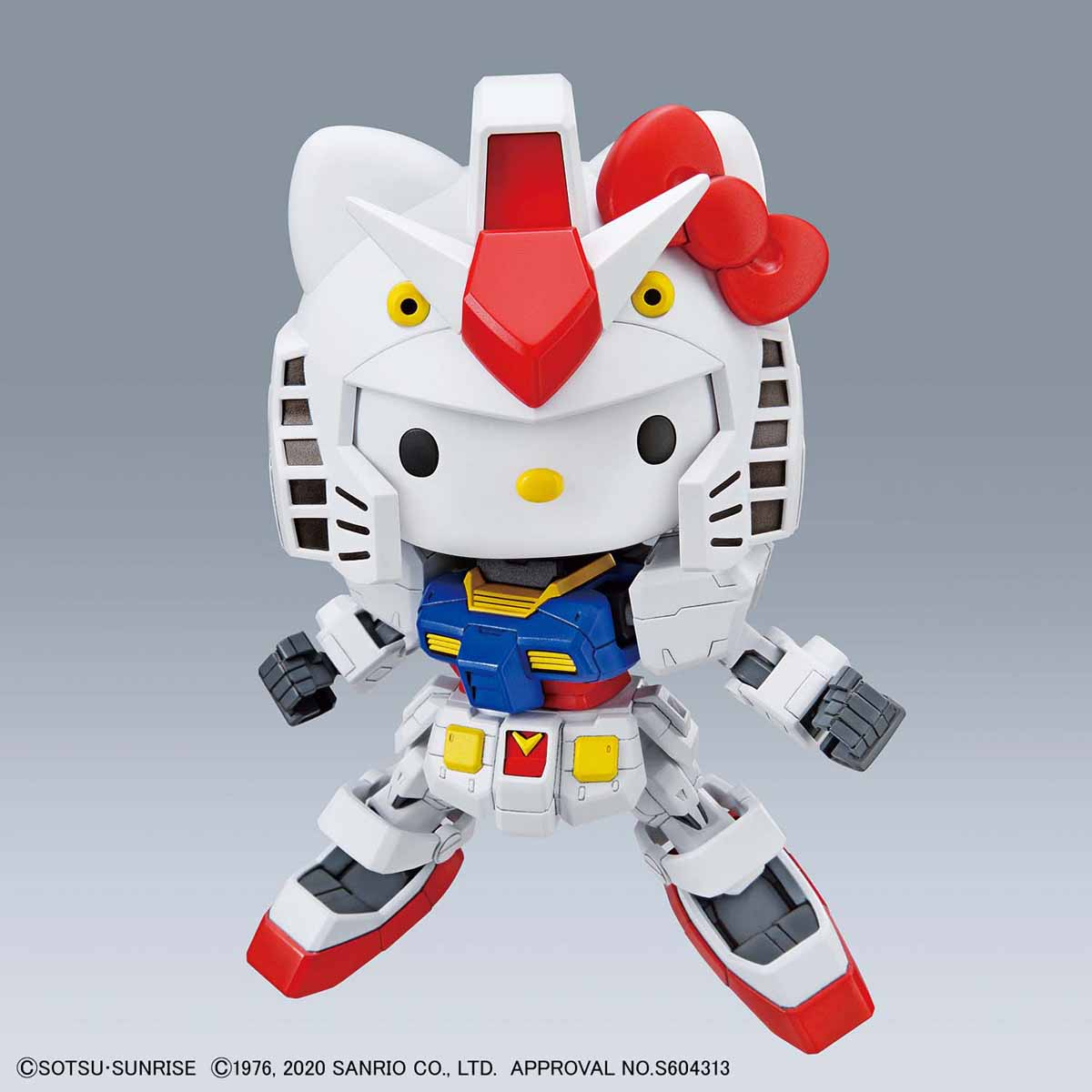 『ハローキティ / RX-78-2 ガンダム[SD EX-STANDARD]』プラモデル-009
