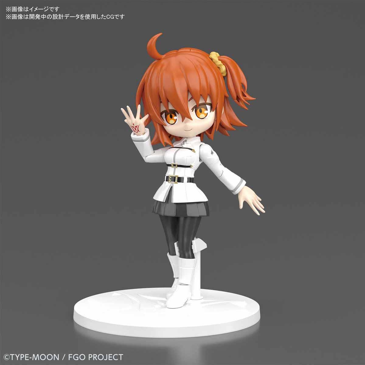 ぷちりっつ『マスター/女主人公』Fate/Grand Order プラモデル-001