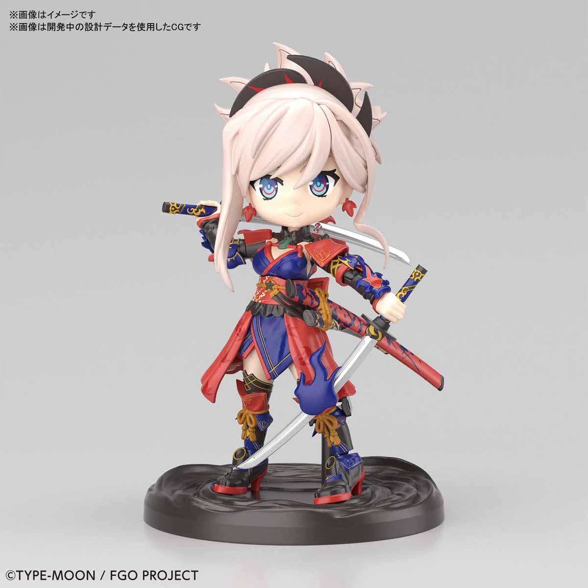 ぷちりっつ『セイバー/宮本武蔵』Fate/Grand Order プラモデル-001