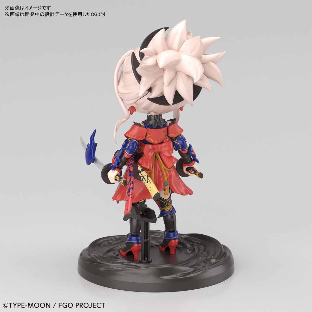 ぷちりっつ『セイバー/宮本武蔵』Fate/Grand Order プラモデル-003