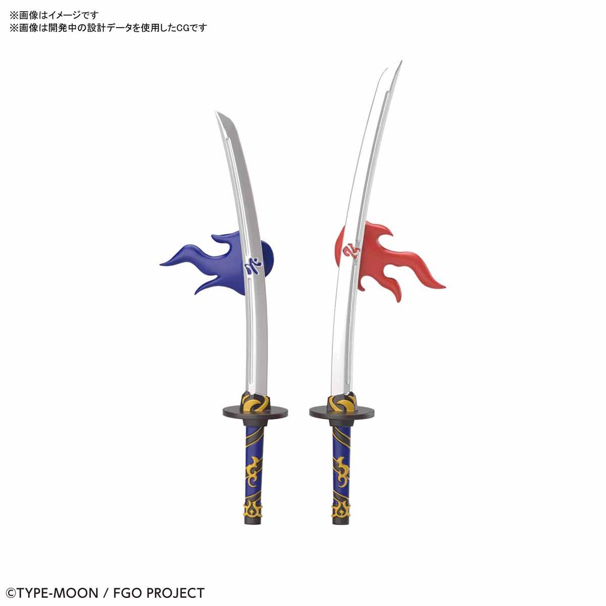 ぷちりっつ『セイバー/宮本武蔵』Fate/Grand Order プラモデル-004