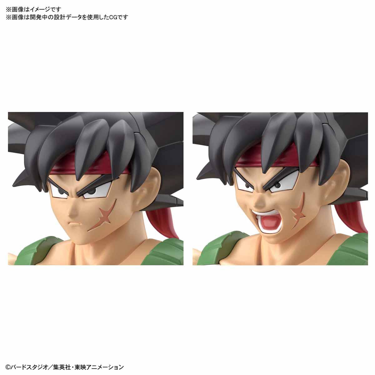 Figure-rise Standard『バーダック』ドラゴンボールZ プラモデル-004