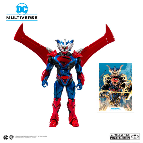 DCマルチバース #011『アーマード・スーパーマン』7インチ・アクションフィギュア