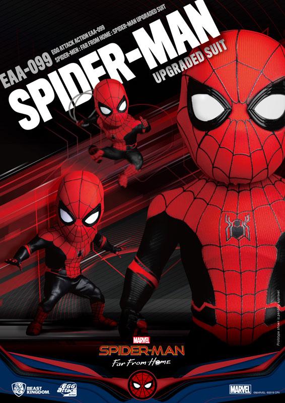 エッグアタック・アクション『スパイダーマン アップグレード スーツ版』可動フィギュア-009