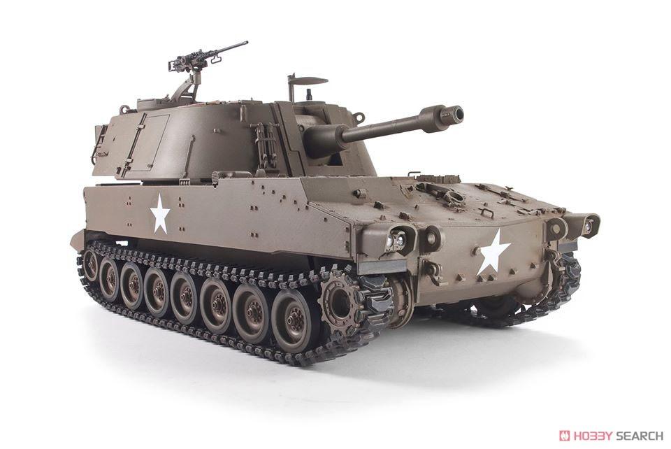 1/35『M108 105mm自走榴弾砲』プラモデル-002