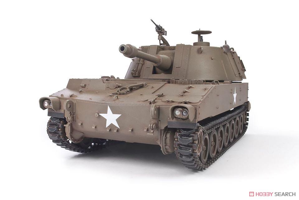 1/35『M108 105mm自走榴弾砲』プラモデル-004