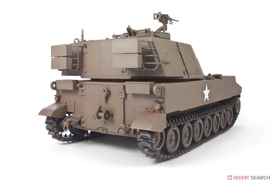1/35『M108 105mm自走榴弾砲』プラモデル-005
