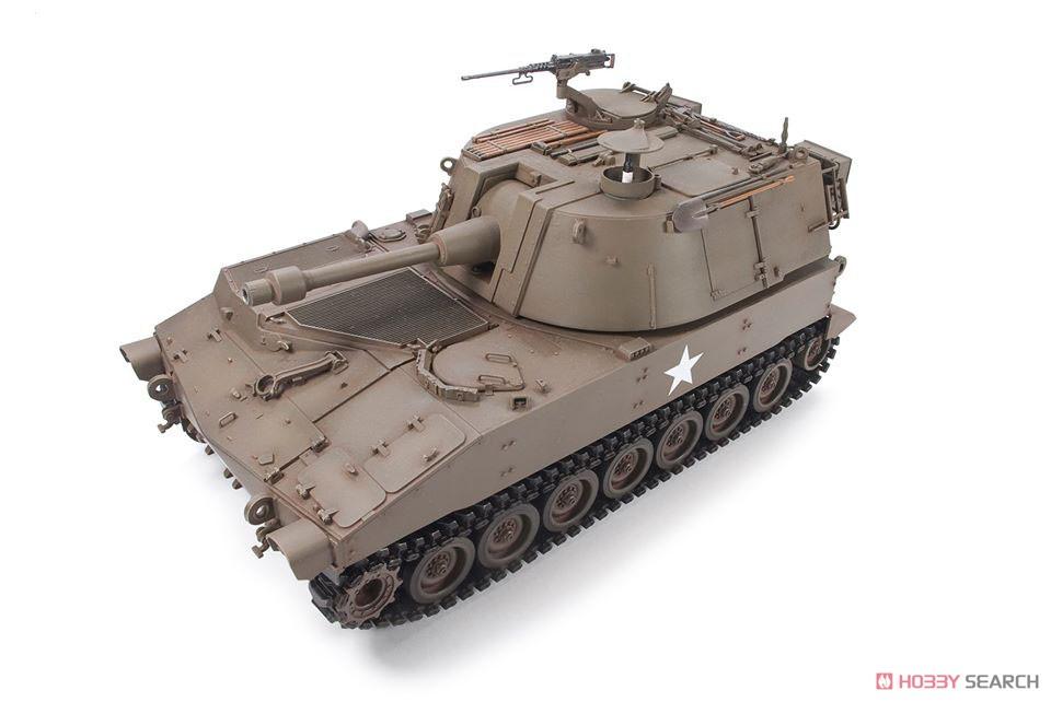 1/35『M108 105mm自走榴弾砲』プラモデル-006
