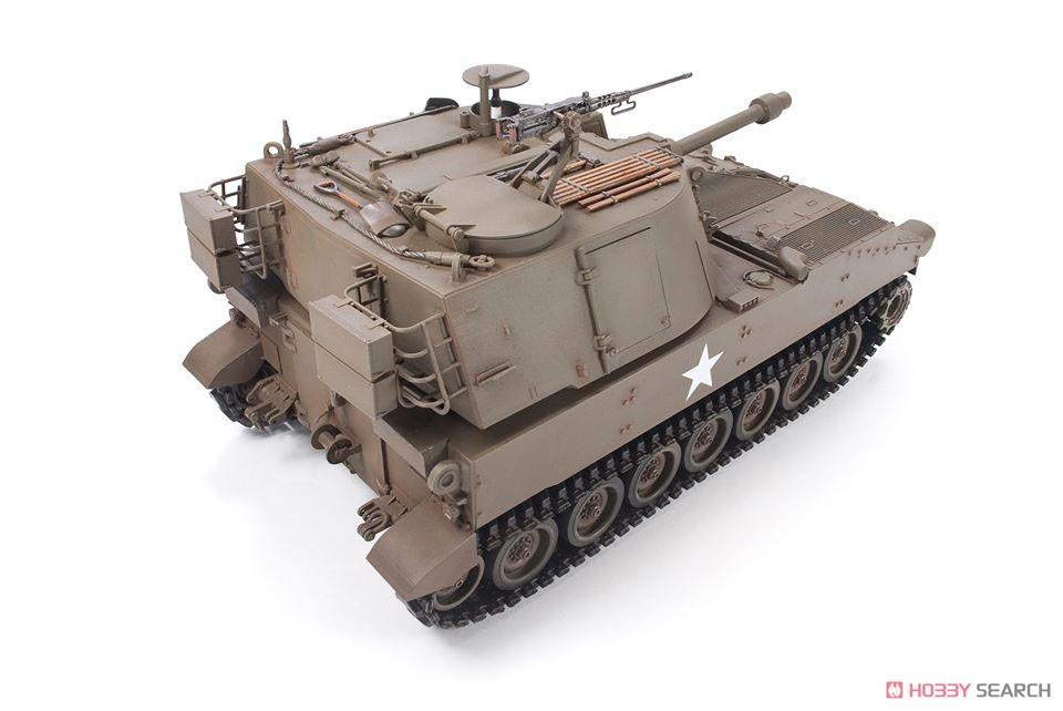 1/35『M108 105mm自走榴弾砲』プラモデル-007