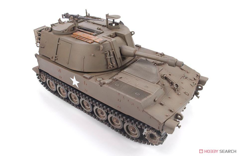 1/35『M108 105mm自走榴弾砲』プラモデル-008
