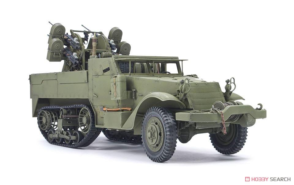 1/35『M16 対空自走砲 ミートチョッパー』プラモデル-002