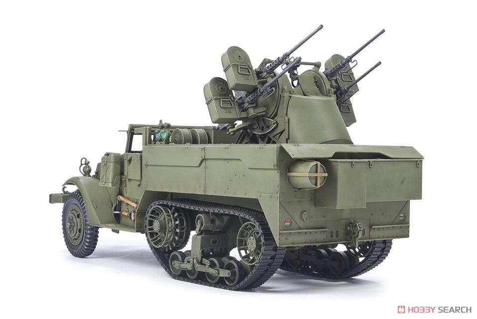 1/35『M16 対空自走砲 ミートチョッパー』プラモデル-003
