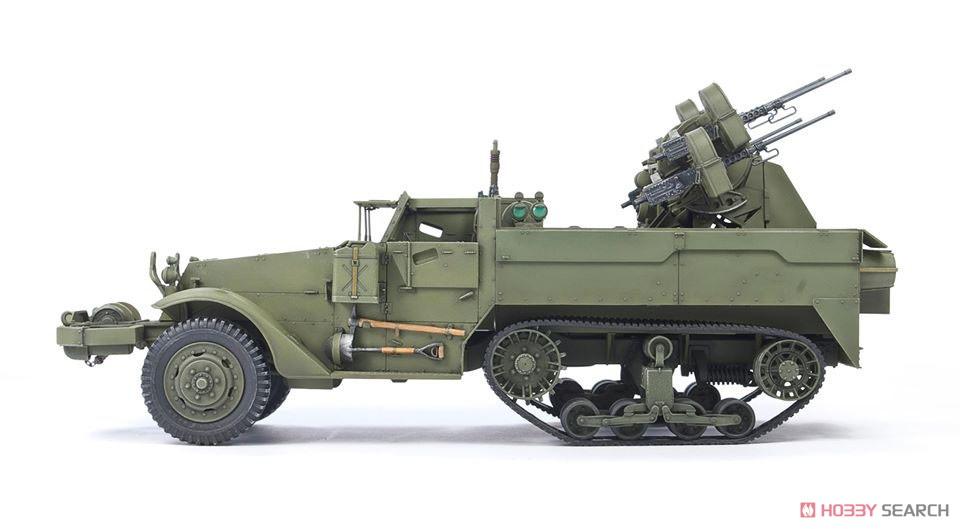 1/35『M16 対空自走砲 ミートチョッパー』プラモデル-004
