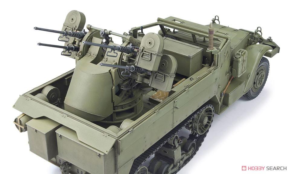 1/35『M16 対空自走砲 ミートチョッパー』プラモデル-005