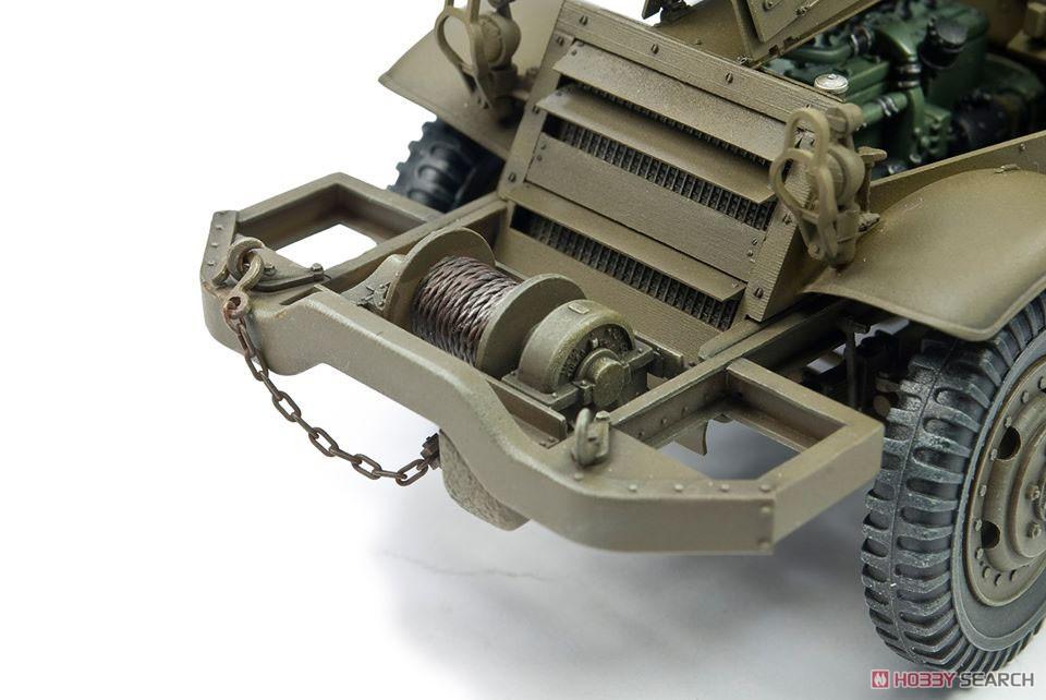 1/35『M16 対空自走砲 ミートチョッパー』プラモデル-006