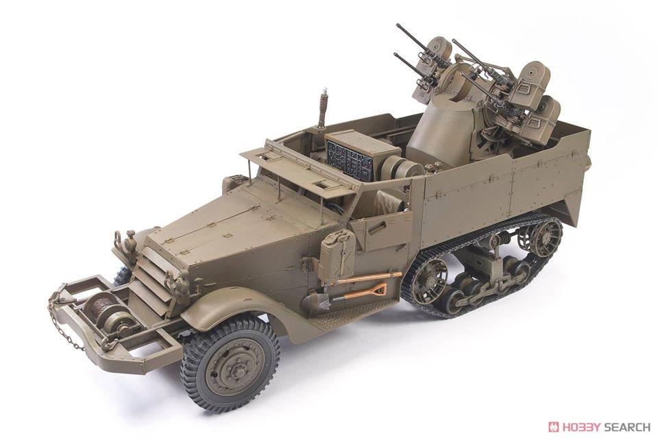 1/35『M16 対空自走砲 ミートチョッパー』プラモデル-007