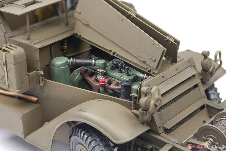 1/35『M16 対空自走砲 ミートチョッパー』プラモデル-008