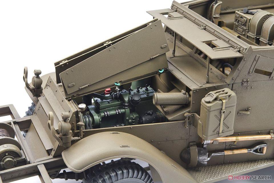 1/35『M16 対空自走砲 ミートチョッパー』プラモデル-009