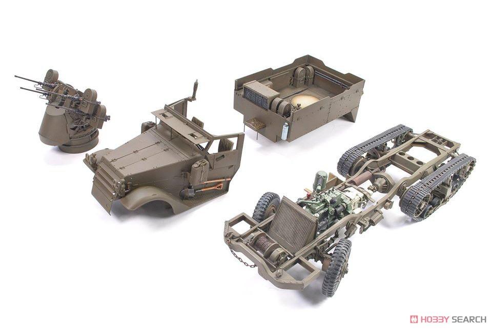 1/35『M16 対空自走砲 ミートチョッパー』プラモデル-010