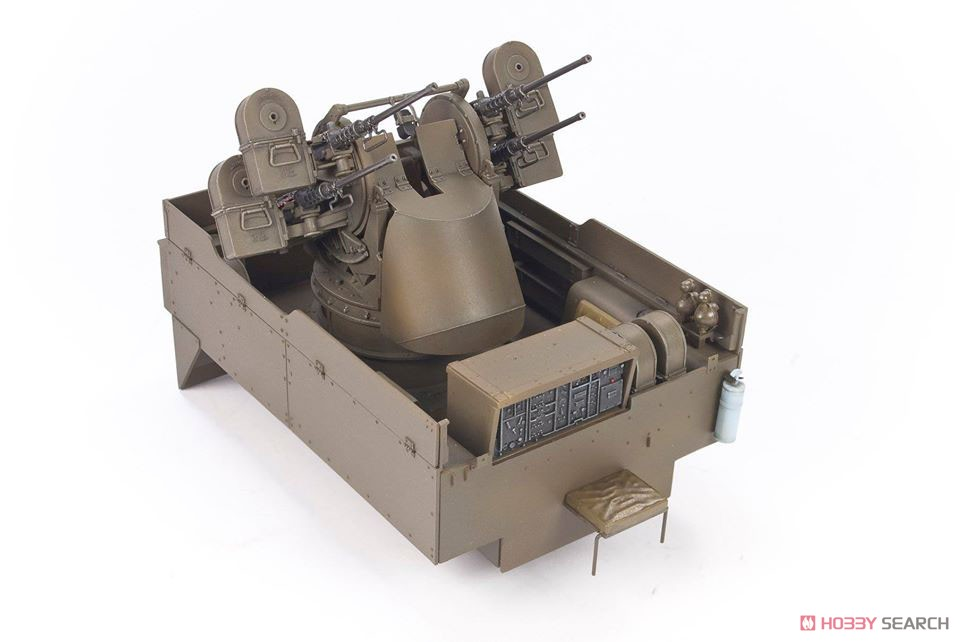 1/35『M16 対空自走砲 ミートチョッパー』プラモデル-011