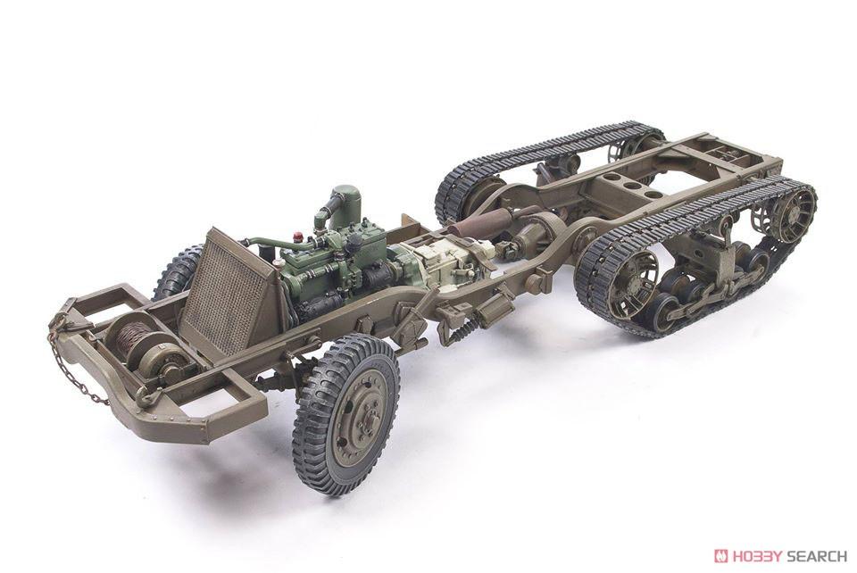 1/35『M16 対空自走砲 ミートチョッパー』プラモデル-013