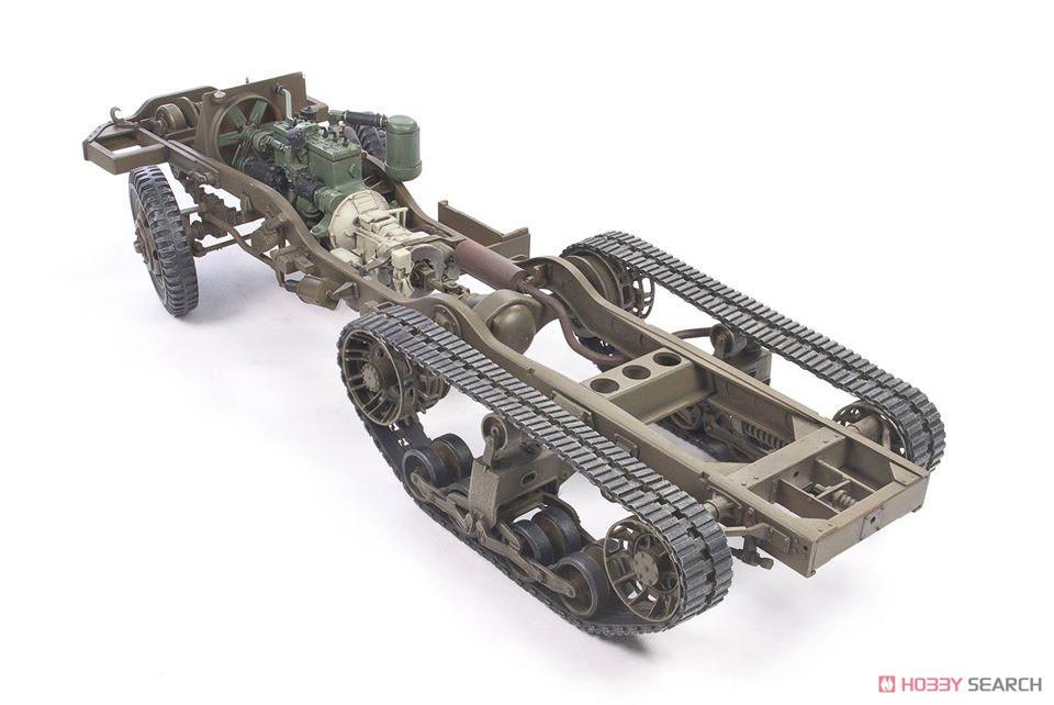 1/35『M16 対空自走砲 ミートチョッパー』プラモデル-014