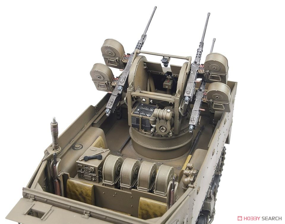 1/35『M16 対空自走砲 ミートチョッパー』プラモデル-015