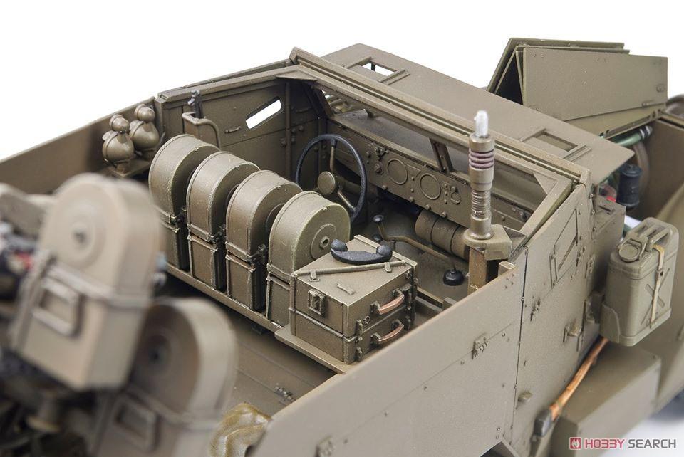 1/35『M16 対空自走砲 ミートチョッパー』プラモデル-016