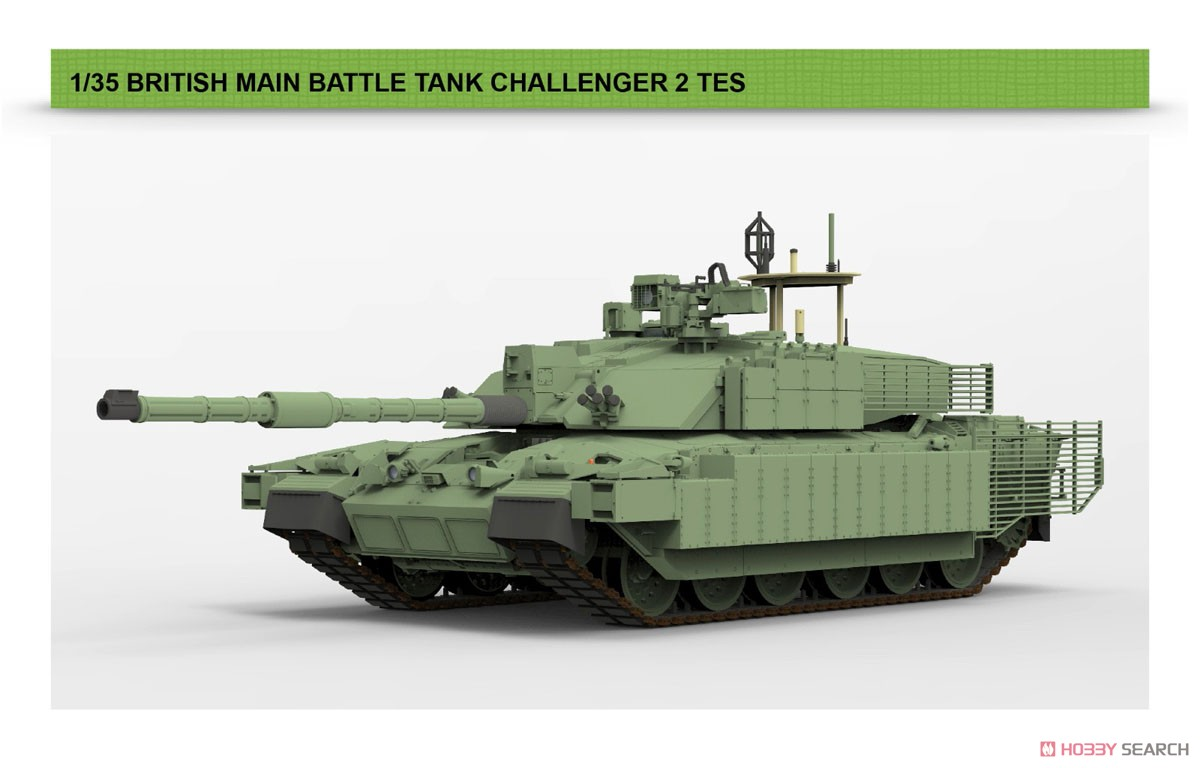 1/35『チャレンジャー2 TES「メガトロン」イギリス軍主力戦車』プラモデル-003