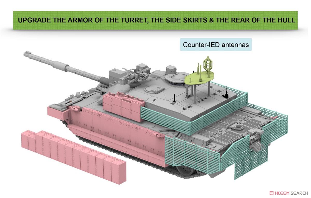 1/35『チャレンジャー2 TES「メガトロン」イギリス軍主力戦車』プラモデル-004